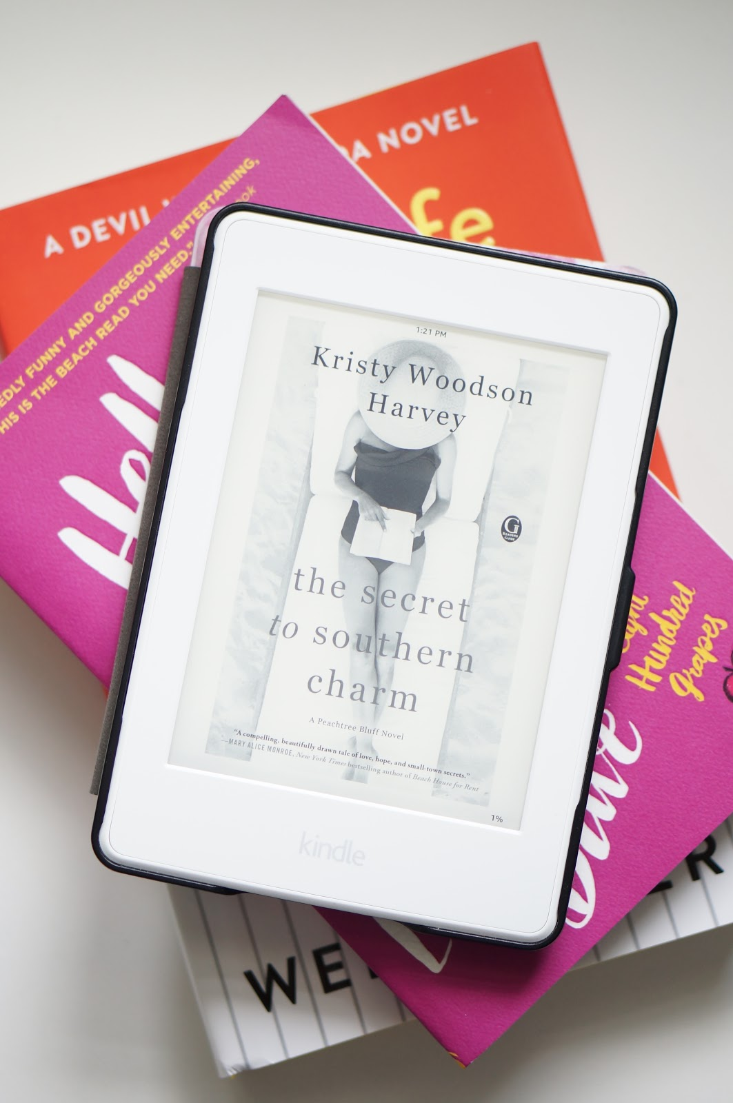 Summer reads are coming in hot!  This review is for Secret to Southern Charm by Kristy Harvey.  If you are in need of a literary escape, check out this book!