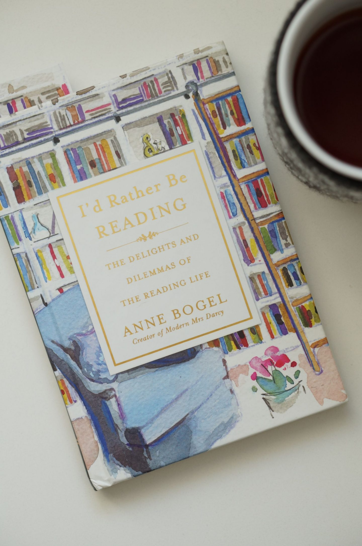 Popular North Carolina style blogger Rebecca Lately shares her review of Anne Bogel's I'd Rather Be Reading, and she's giving away two copies!
