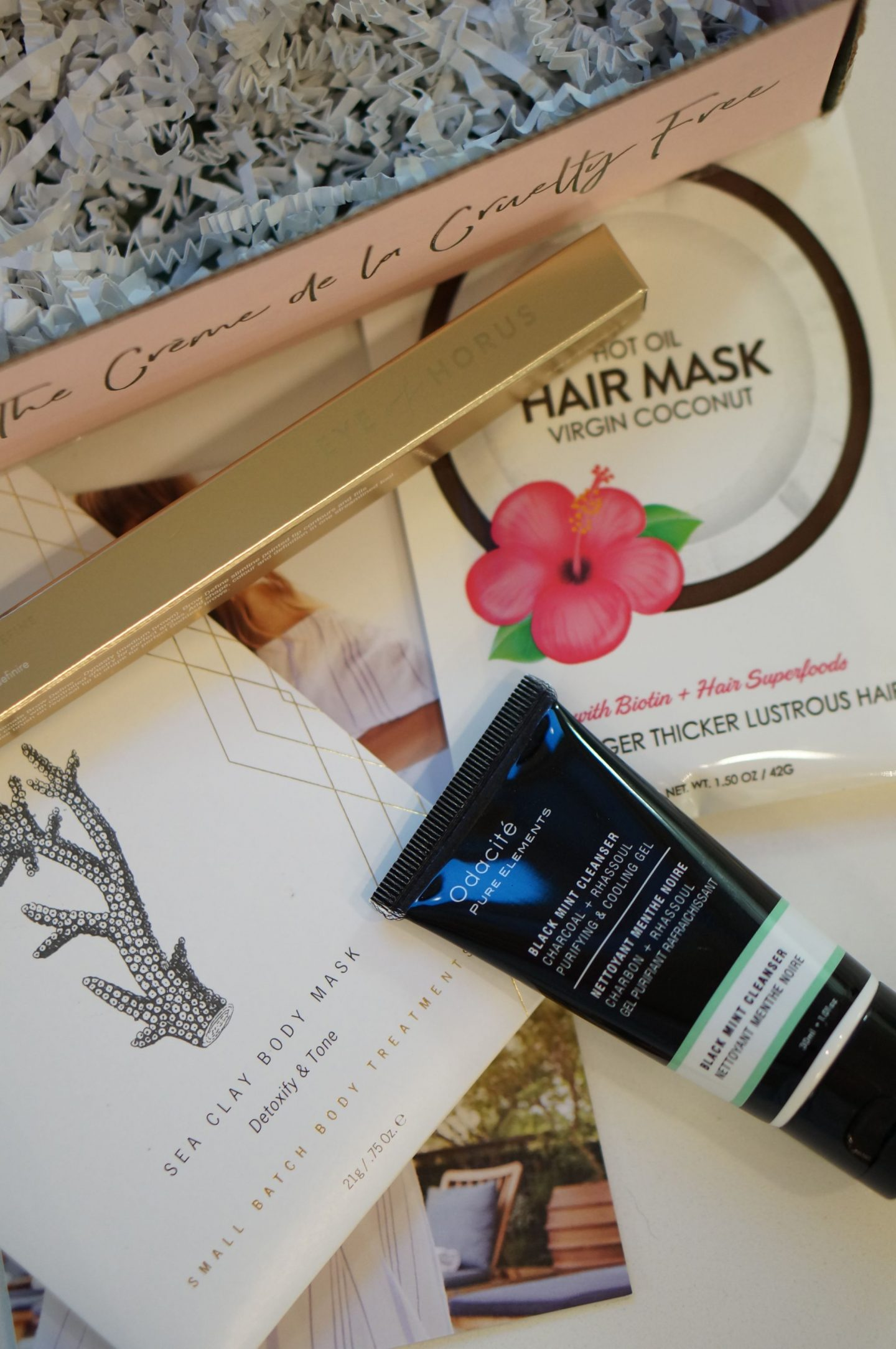 My Petit Vour box is always a highlight of the month.  Trying new brands is so much fun, and this box is a stellar one with three full size products!