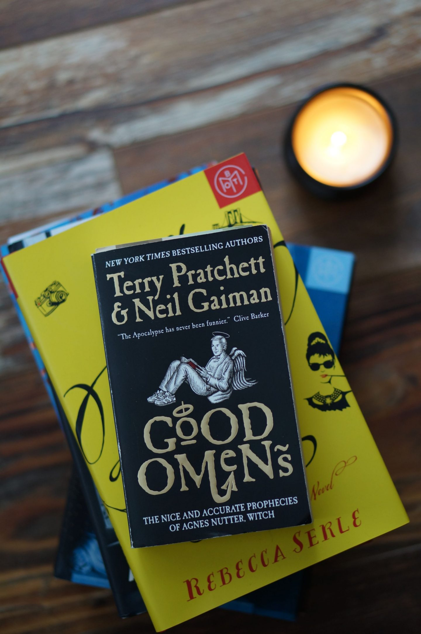 Popular North Carolina blogger Rebecca Lately shares her review of Good Omens by Neil Gaiman and Terry Pratchett. Click here for a great October read!