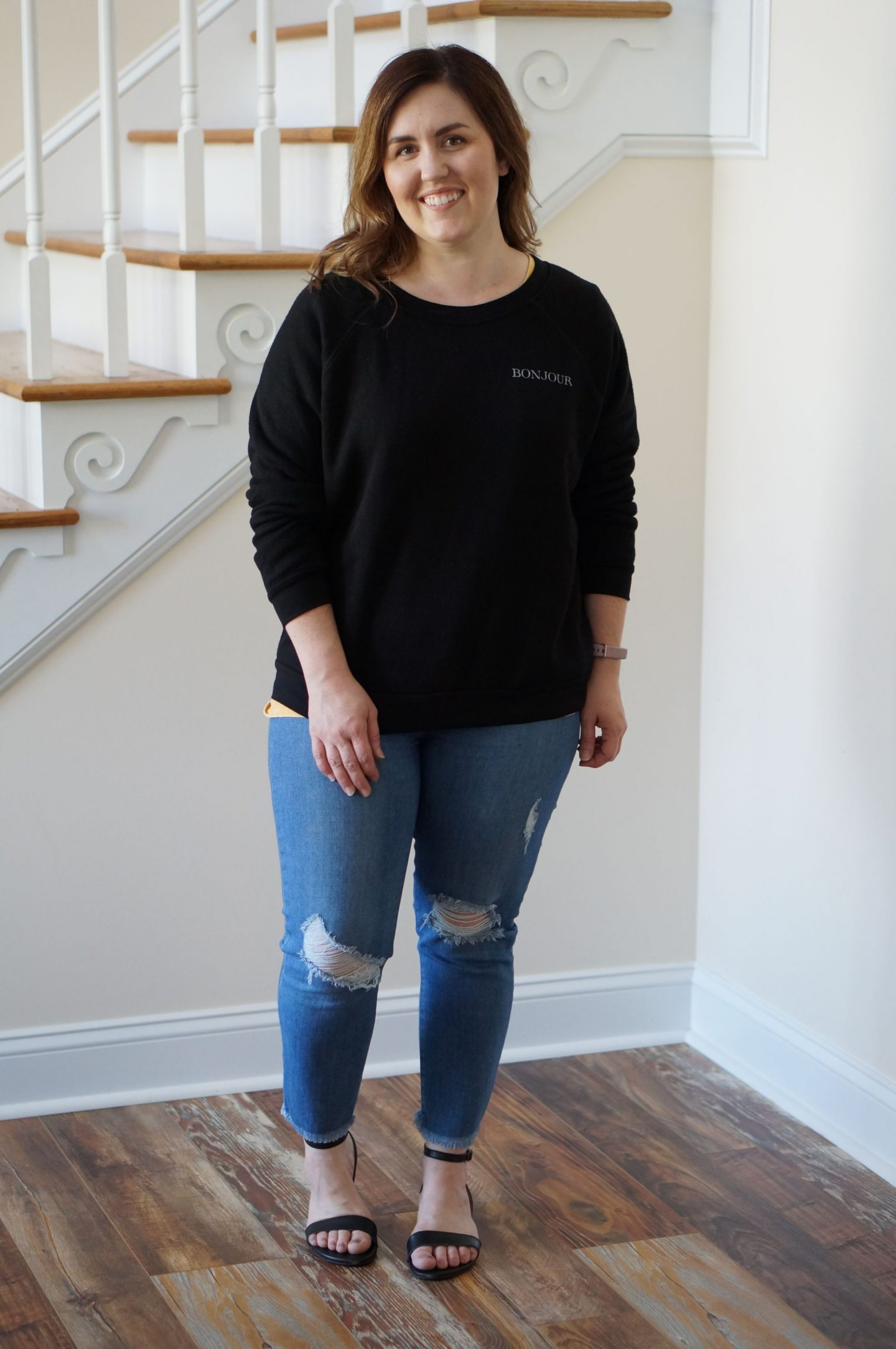 Popular North Carolina style blogger Rebecca Lately shares her October Stitch Fix outfits. Click here to read what she liked and what she sent back!