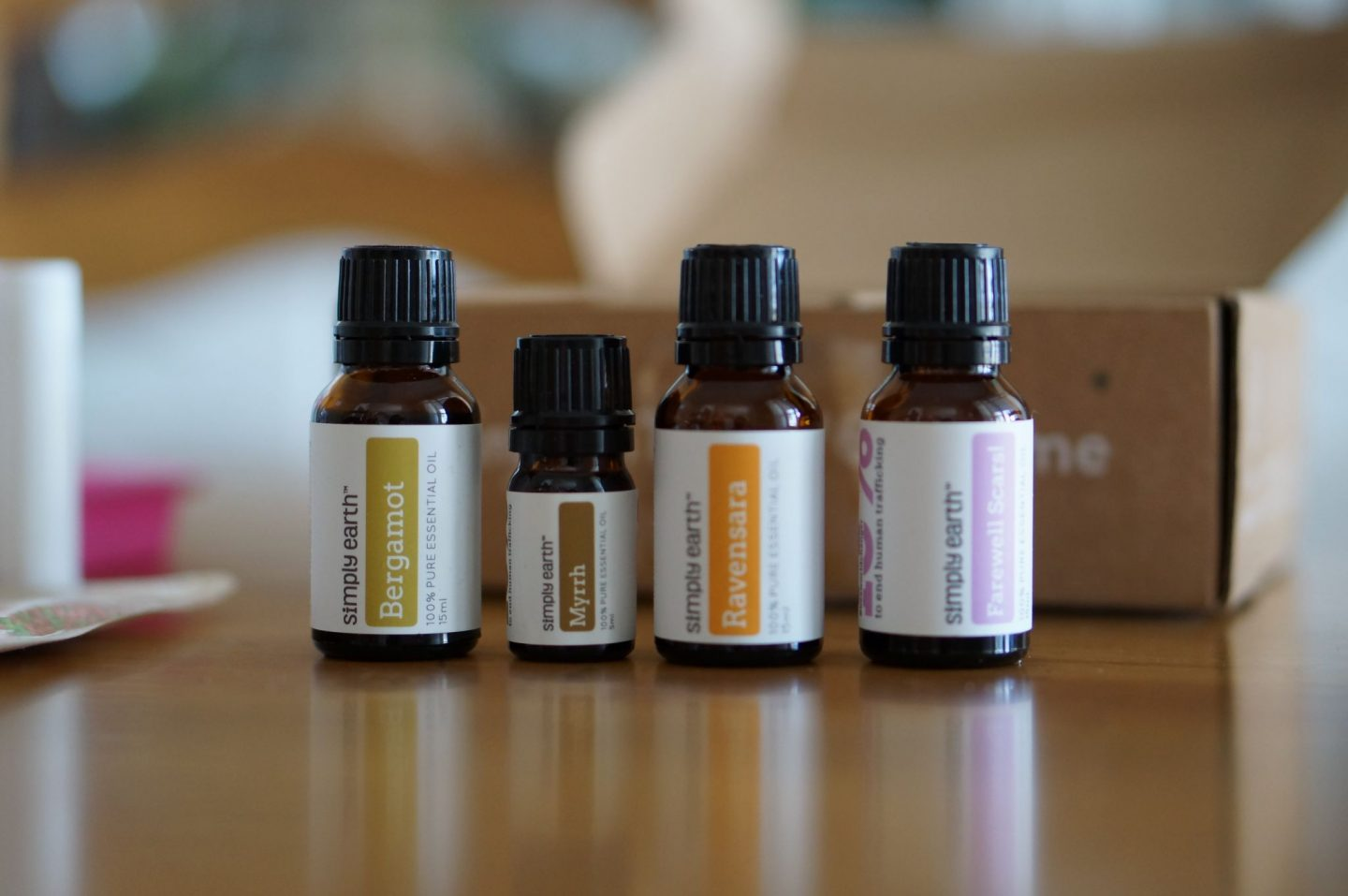 North Carolina blogger Rebecca Lately shares her Simply Earth box for January 2019. This is a DIY essential oil subscription!