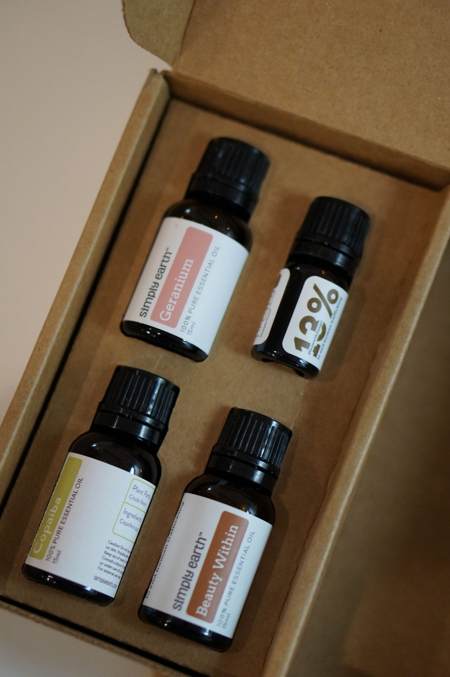 North Carolina blogger Rebecca Lately shares her Simply Earth February 2019 box, along with the DIY essential oil recipes she's made!