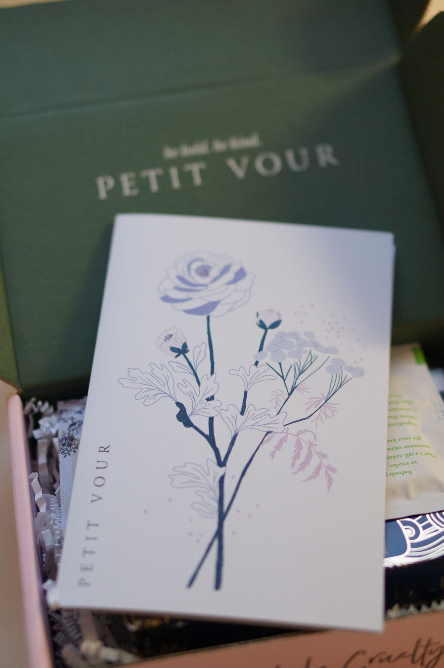 North Carolina blogger Rebecca Lately shares her mini review of the Petit Vour January 2019 box. Check out what she loved and what she didn't!