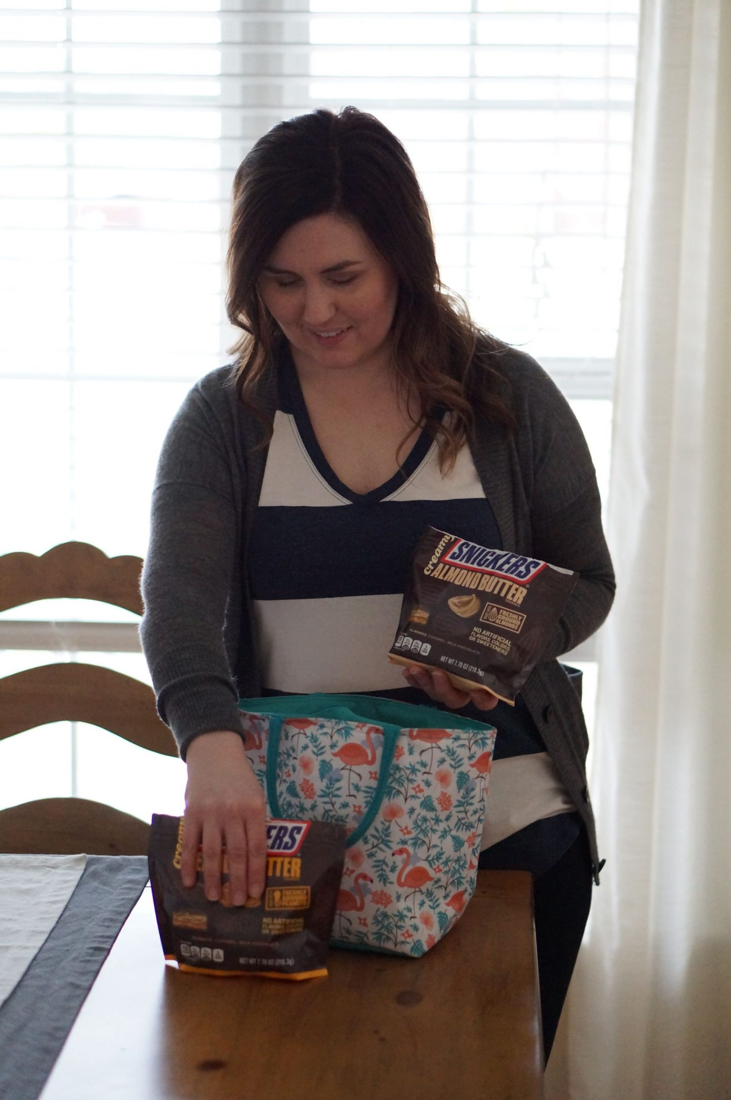 North Carolina blogger Rebecca Lately shares how she keeps her hangry moments at bay with the new SNICKERS Fun Size flavors.
