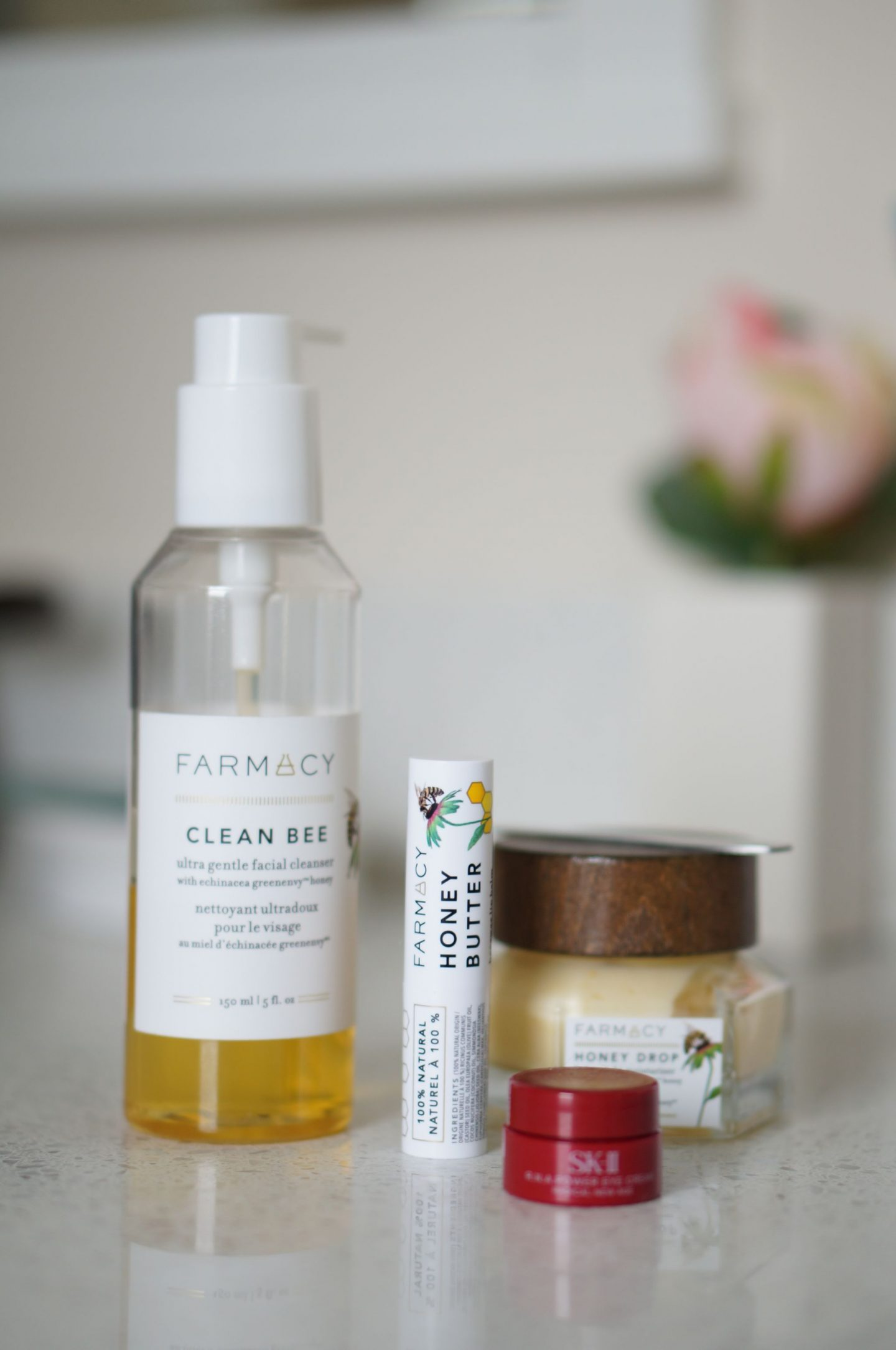 North Carolina style blogger Rebecca Lately shares her updated skincare routine. She is sharing both her morning and night cruelty free routines.