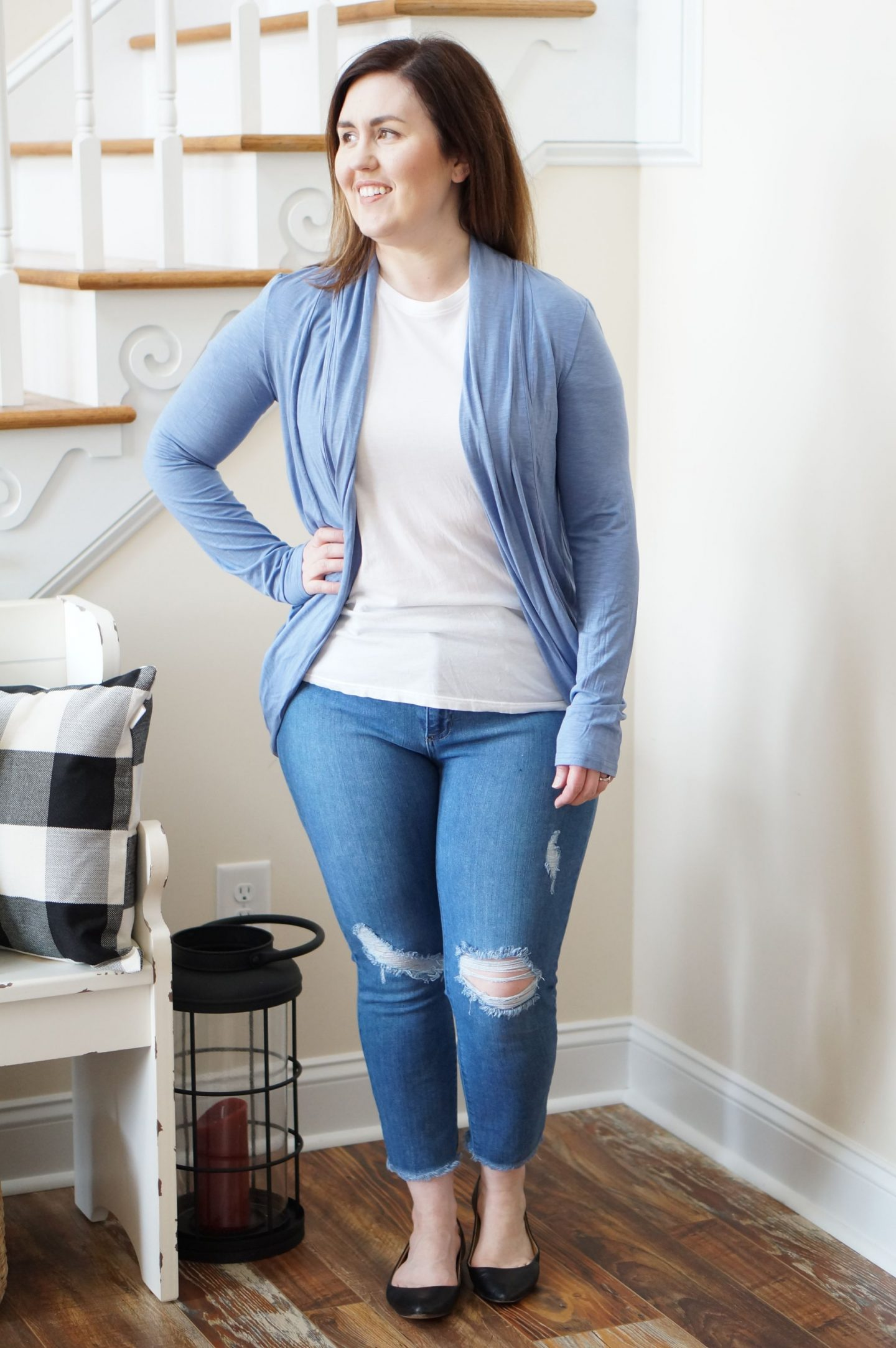 North Carolina style blogger Rebecca Lately shares her box of cardigans from Stitch Fix.  This is her 46th fix!  Come check out what she got!