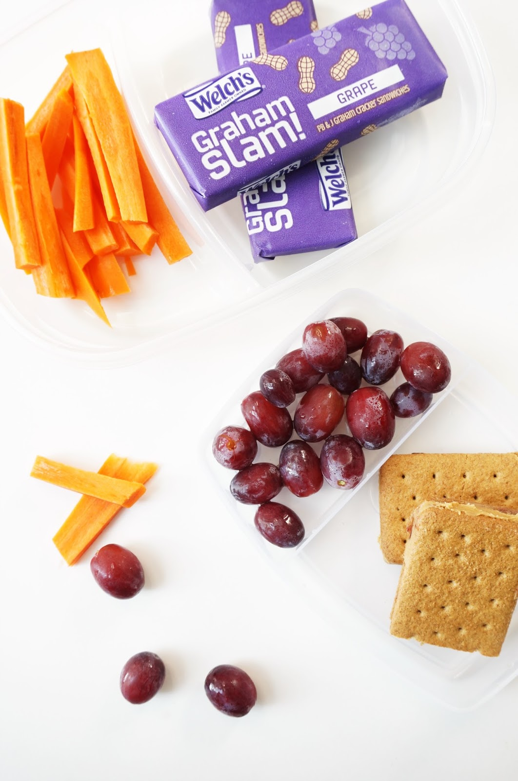 North Carolina blogger Rebecca Lately shares her top five healthy snacks for kids.  There's a little bit of everything, and you're sure to find a fave!