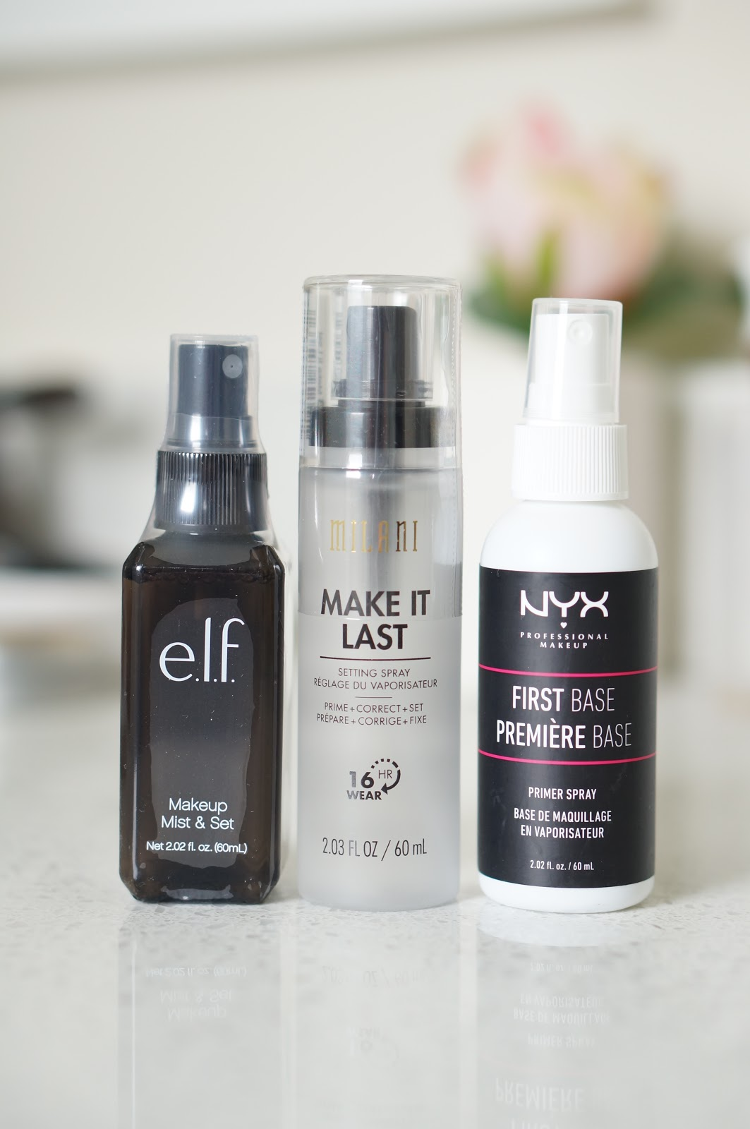 North Carolina blogger Rebecca Lately shares her latest drug store beauty recommendations, with three things the drug store does better than high end!
