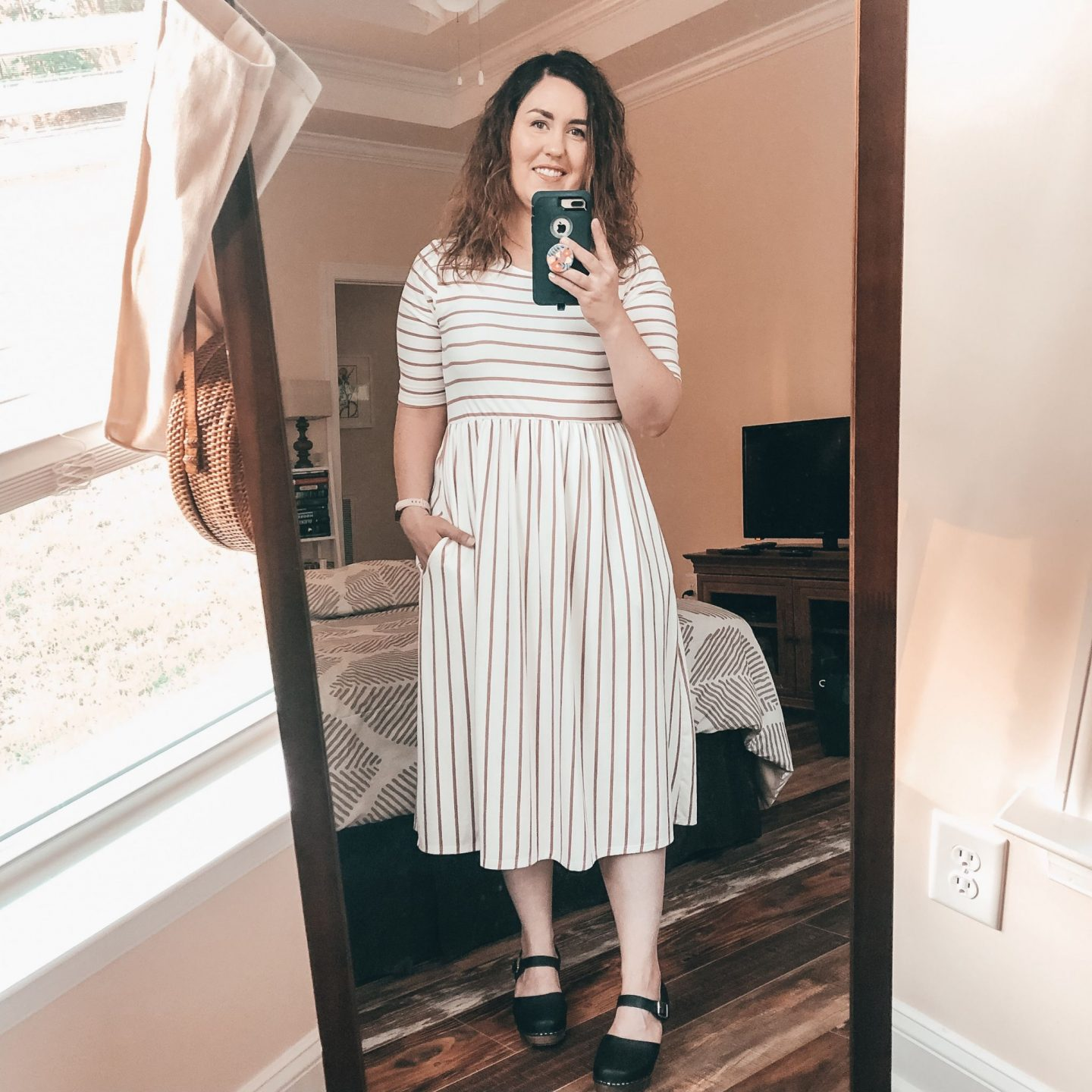 NC blogger Rebecca Lately shares her latest summer outfits round up. She has a little bit of everything, from dresses to jeans.