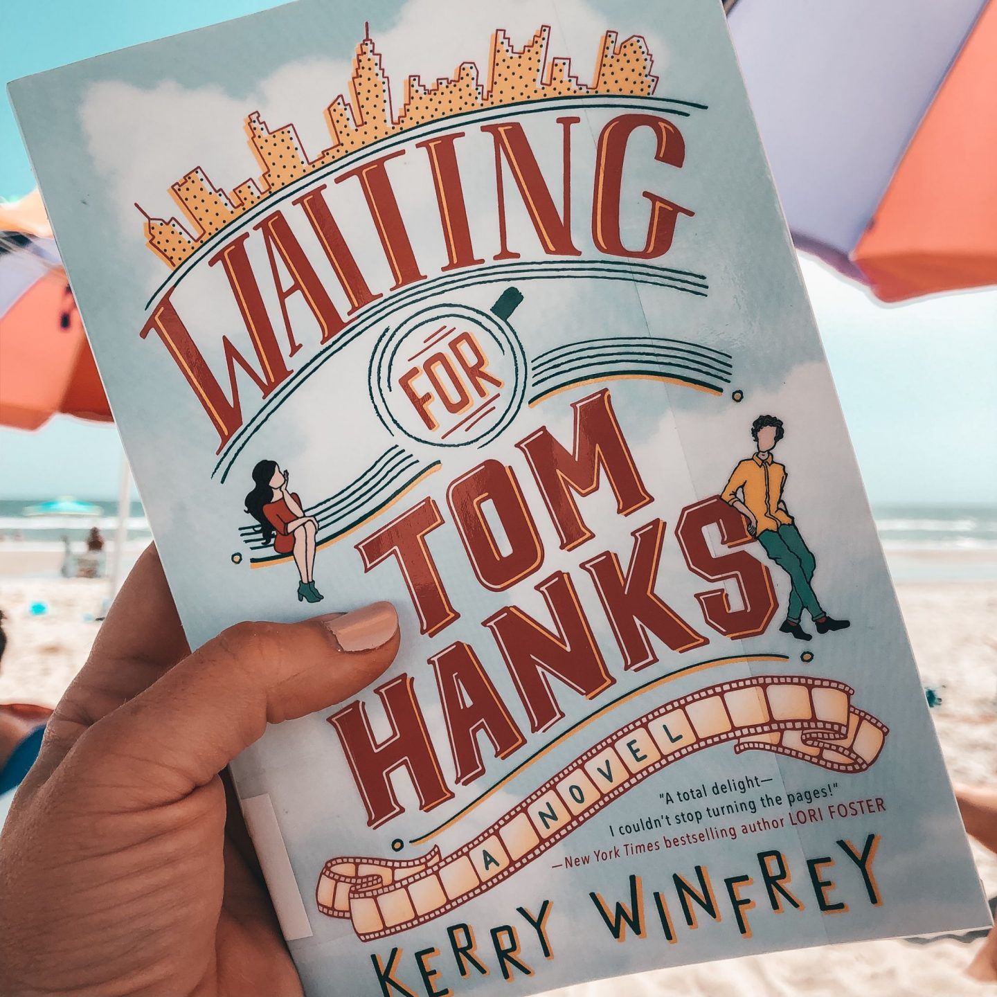 North Carolina blogger Rebecca Lately shares her review of Waiting for Tom Hanks by Kerry Winfrey. This is an fun, light summer read!