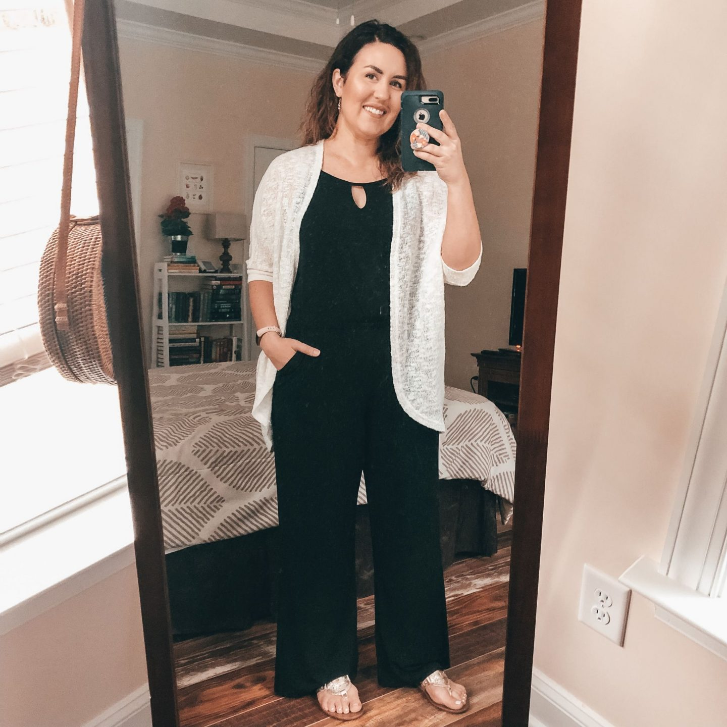 NC blogger Rebecca Lately shares how she is styling black jumpsuits this summer. If you need inspiration for your summer outfits, check this out!