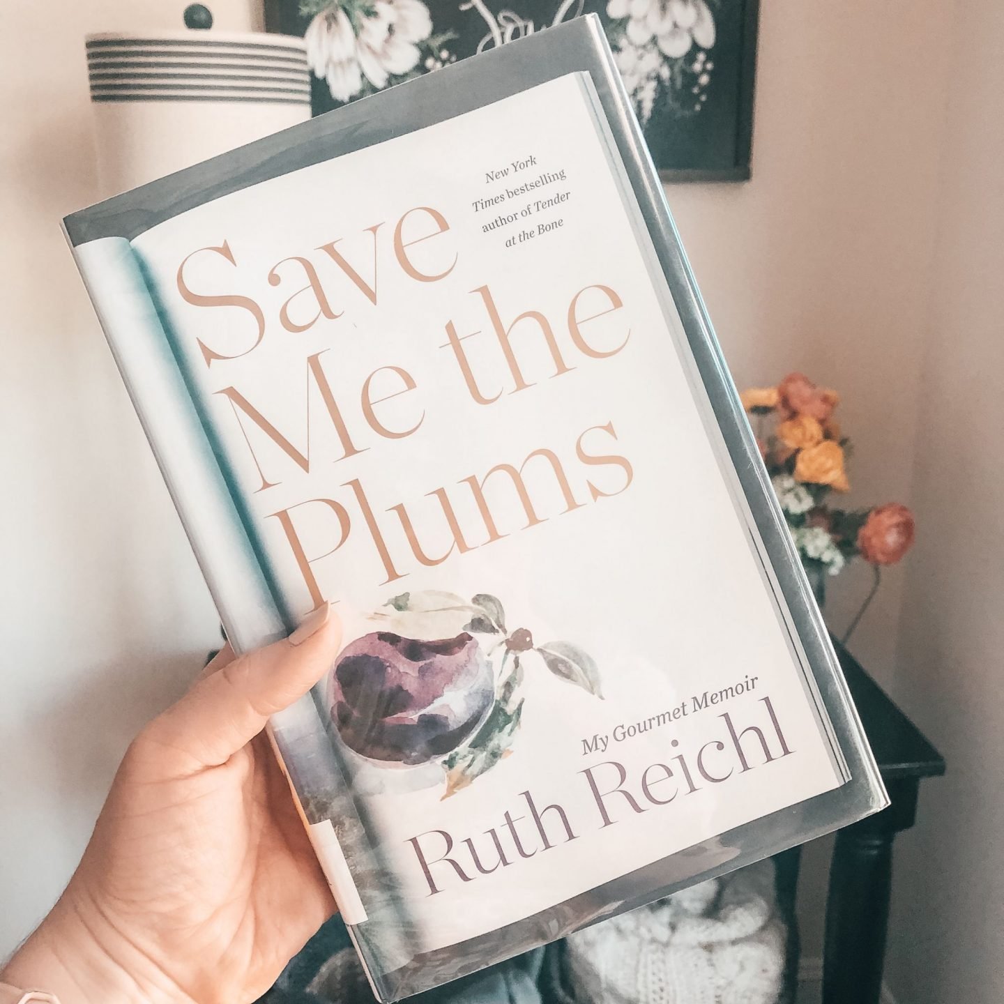NC blogger Rebecca Lately shares her review of Save Me the Plums.  Any foodie out there who loves reading about food will enjoy this memoir!
