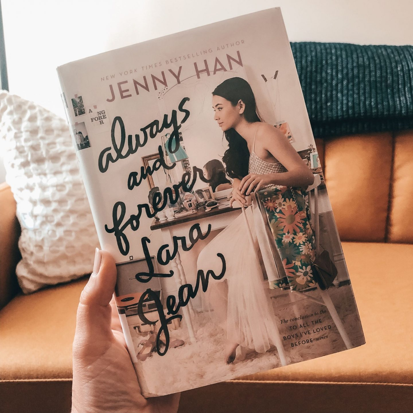 NC blogger Rebecca Lately shares her review of Always and Forever, Lara Jean. If you're looking for a fun and girly summer read, check this out!