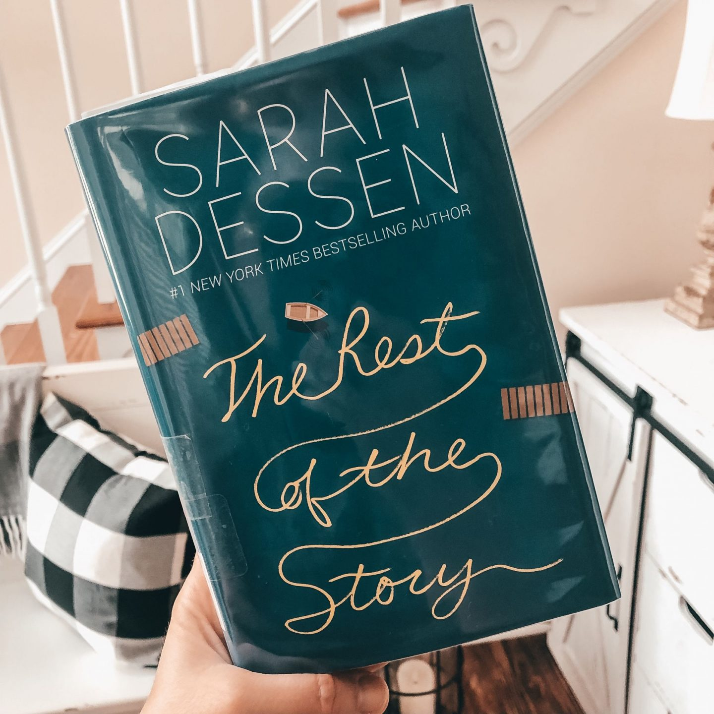 NC blogger Rebecca Lately shares her review of The Rest of the Story by Sarah Dessen.  This enjoyable, quick read was the perfect end to summer.