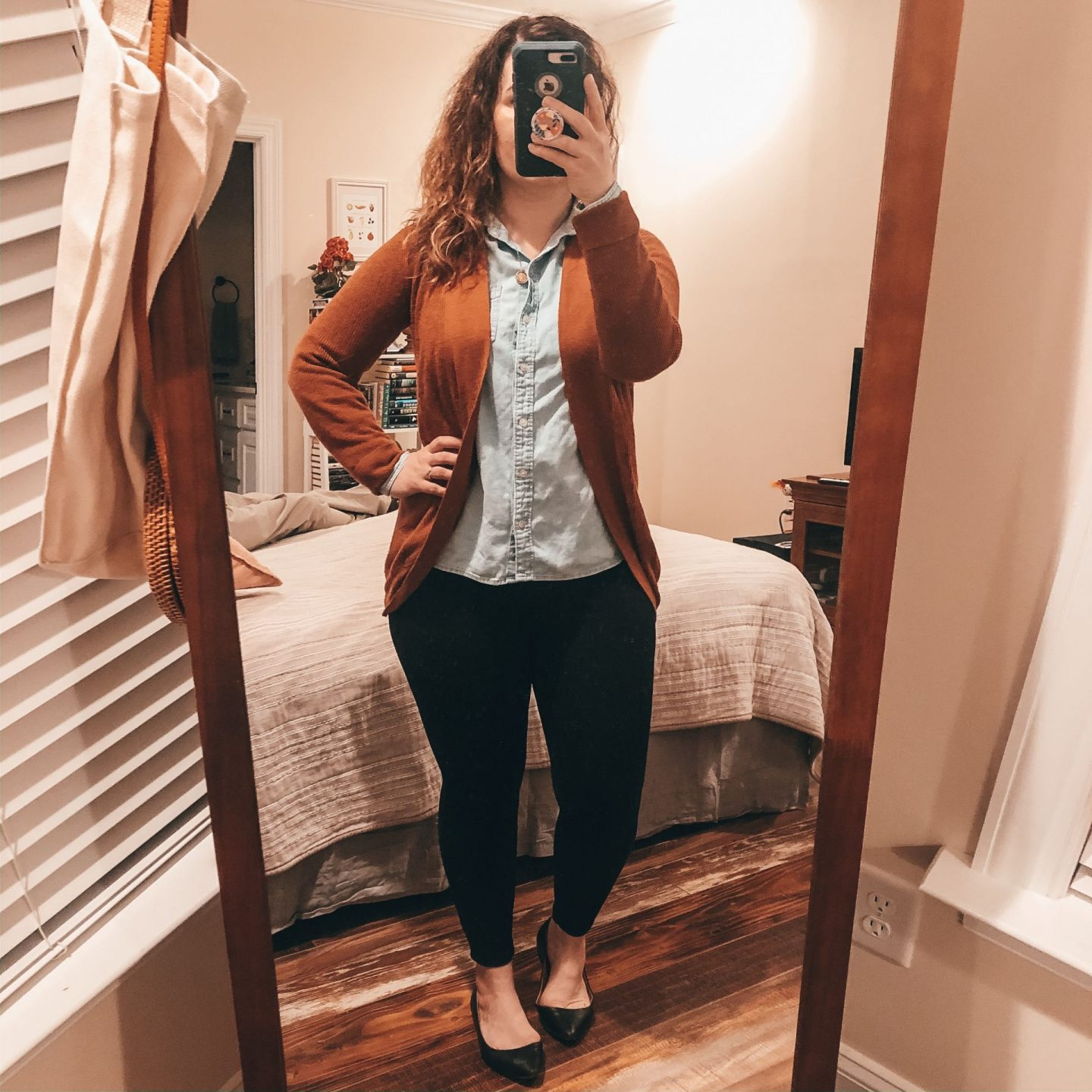 NC blogger Rebecca Lately is sharing her recent outfits from Instagram.  Check this out for fall outfit inspo if you love the colors rust and cognac.