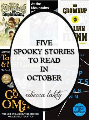 NC blogger Rebecca Lately shares some spooky reads for October.  Check it out to read her five spooky stories that will get you in the mood for Halloween!
