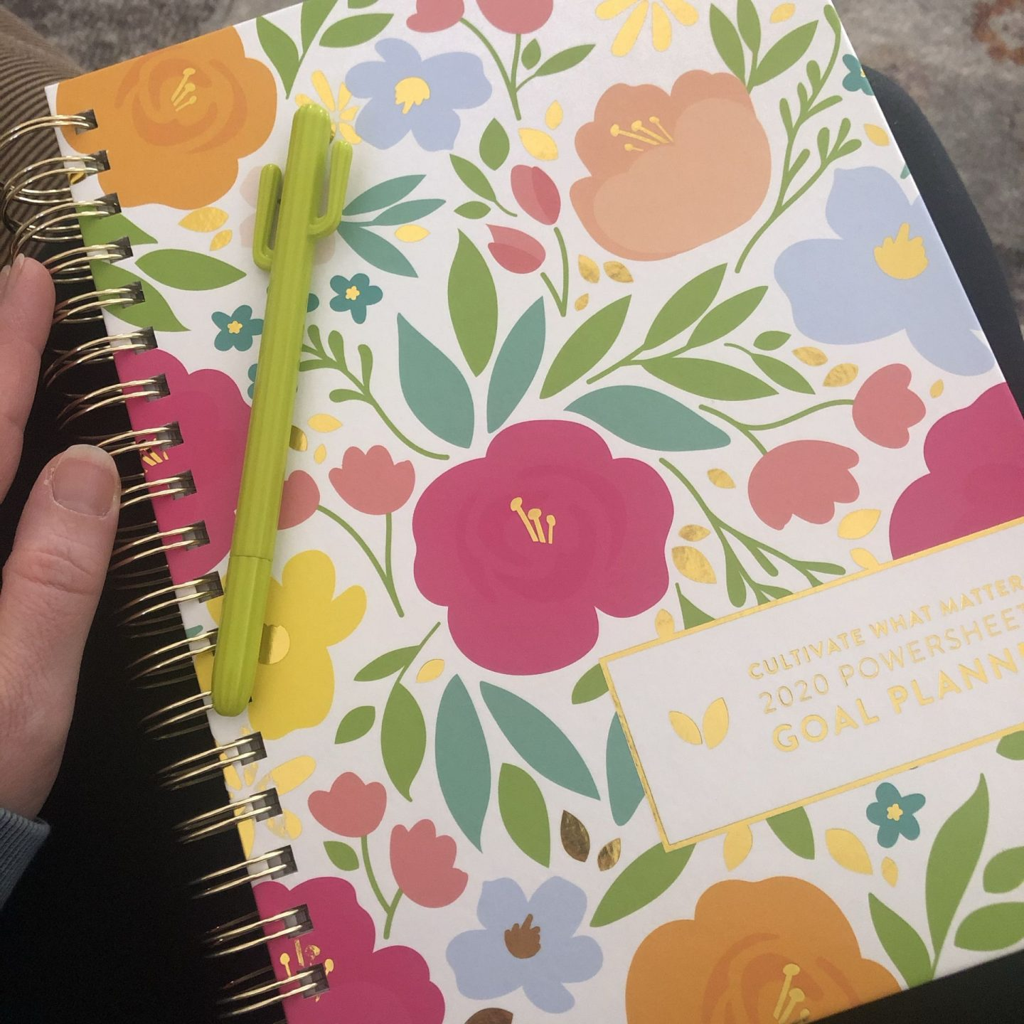 NC blogger Rebecca Lately is sharing her goal tracking method for 2020. If you want to achieve your goals in 2020, check out the planner she's using!