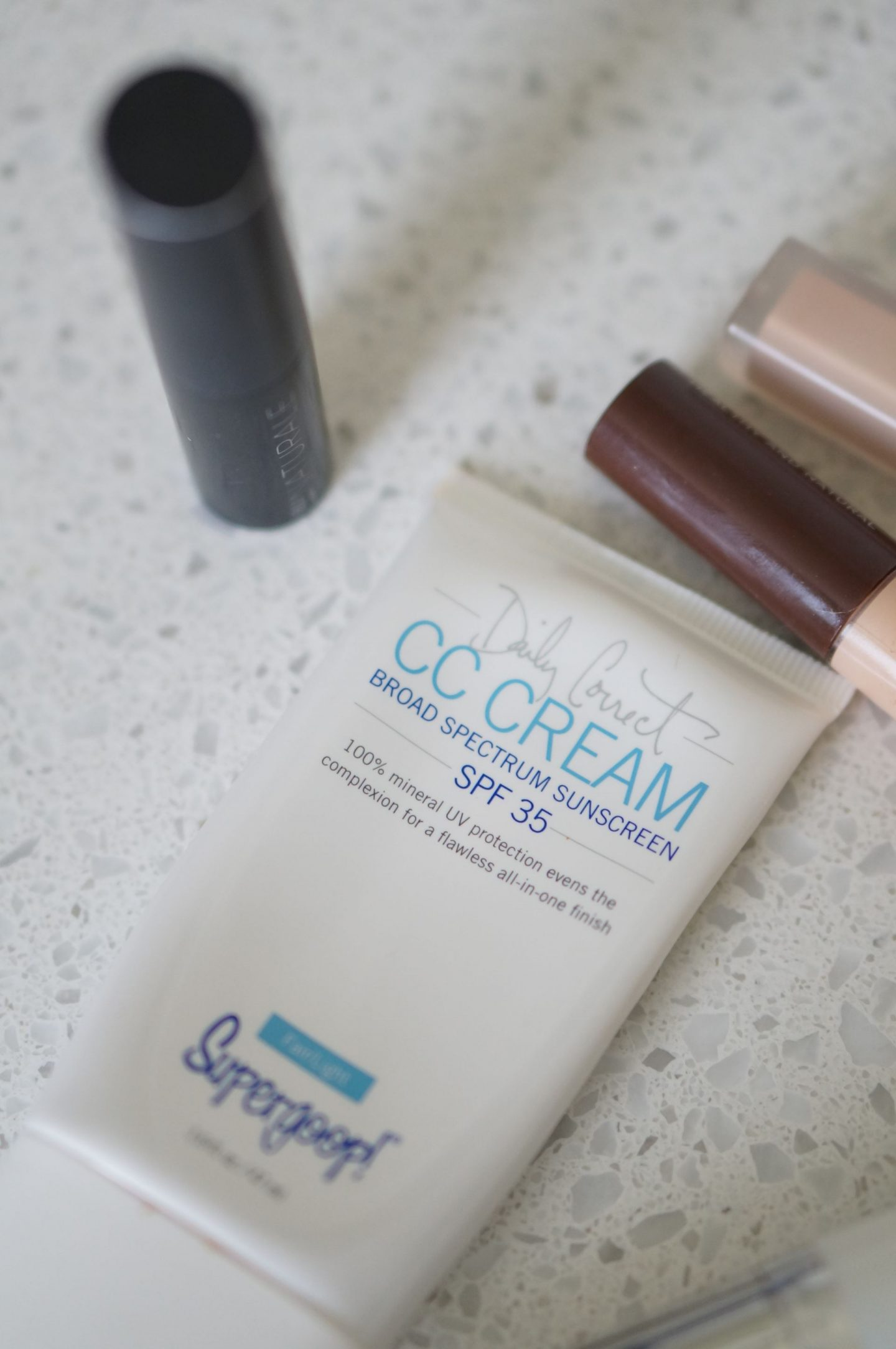 NC blogger Rebecca Lately shares her favorite products for no-makeup makeup.  These are perfect for feeling put together in a minimal way.