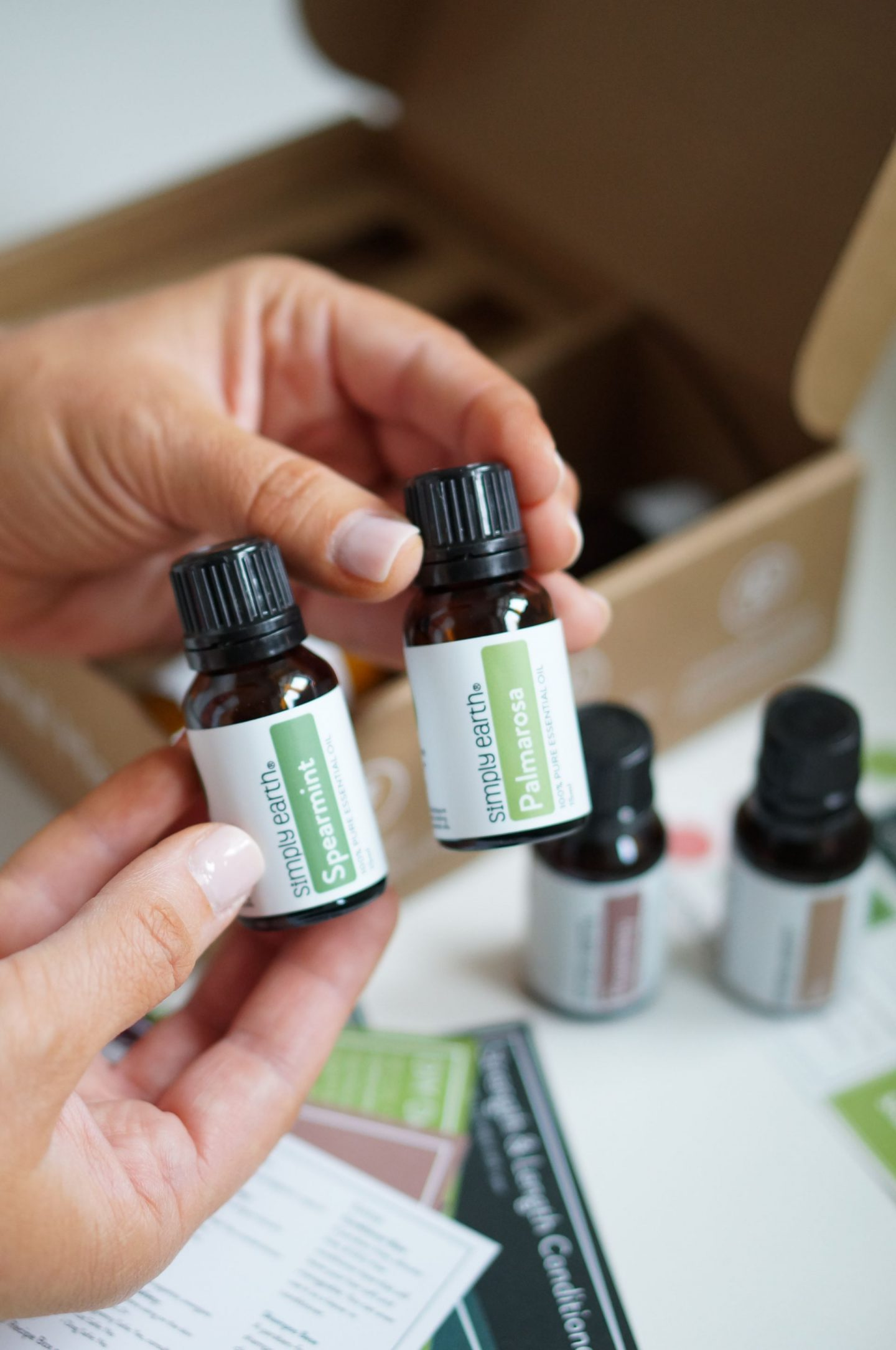 NC blogger Rebecca Lately shares her Simply Earth July 2020 box. Explore this toxin-free essential oil monthly subscription box!