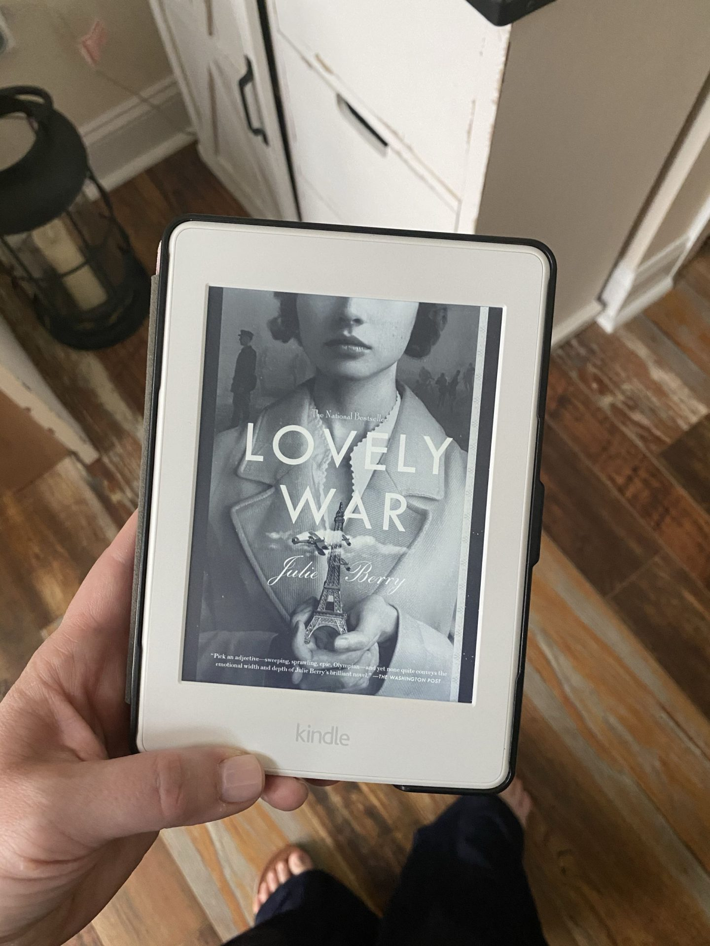 NC blogger Rebecca Lately shares her review of Lovely War by Julie Berry. A sweeping story about love and war, it's a must-read!