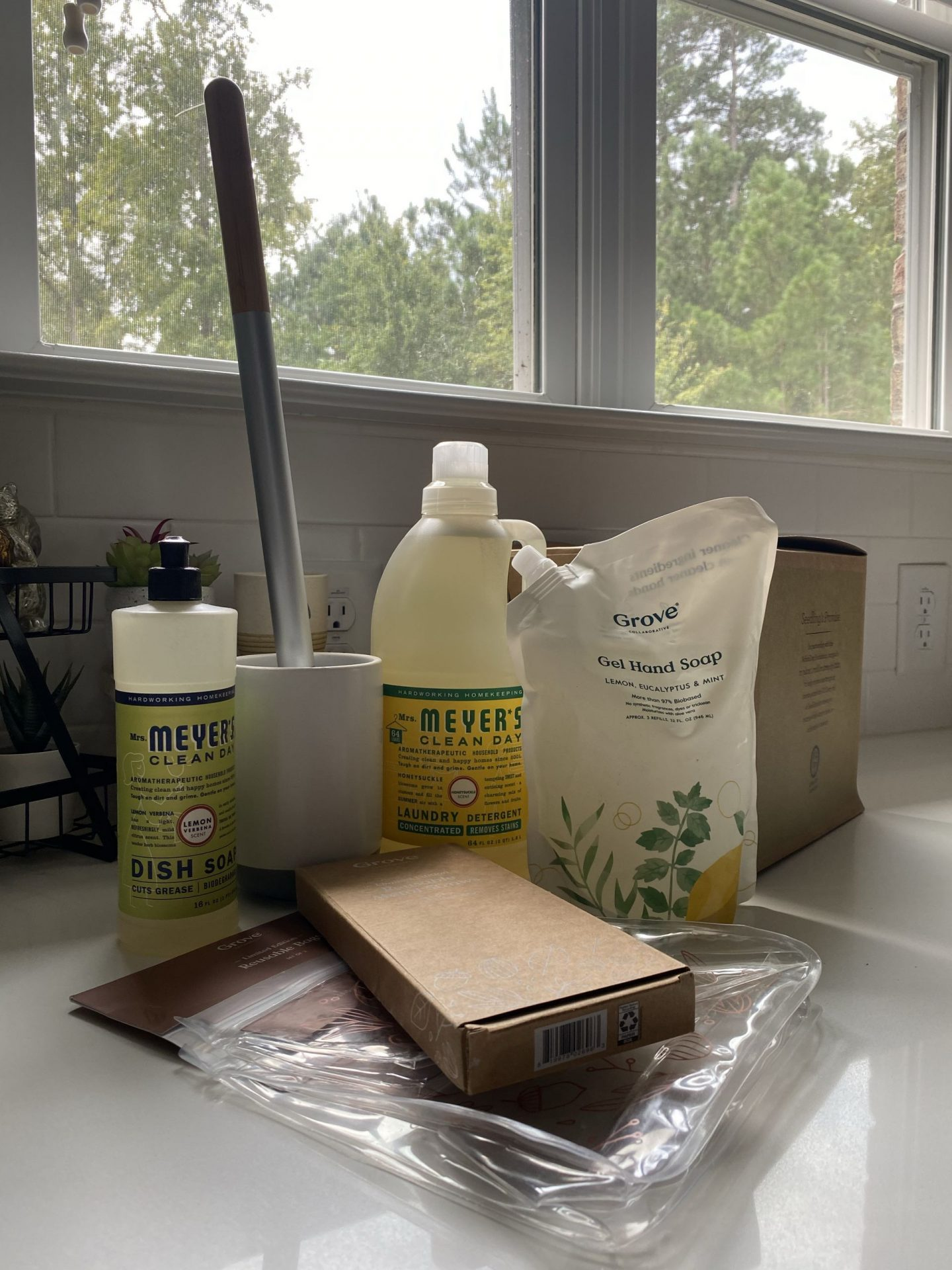 NC blogger Rebecca Lately is sharing her Grove Collaborative Fall Products from the pre-order! Check out what she got for her home!