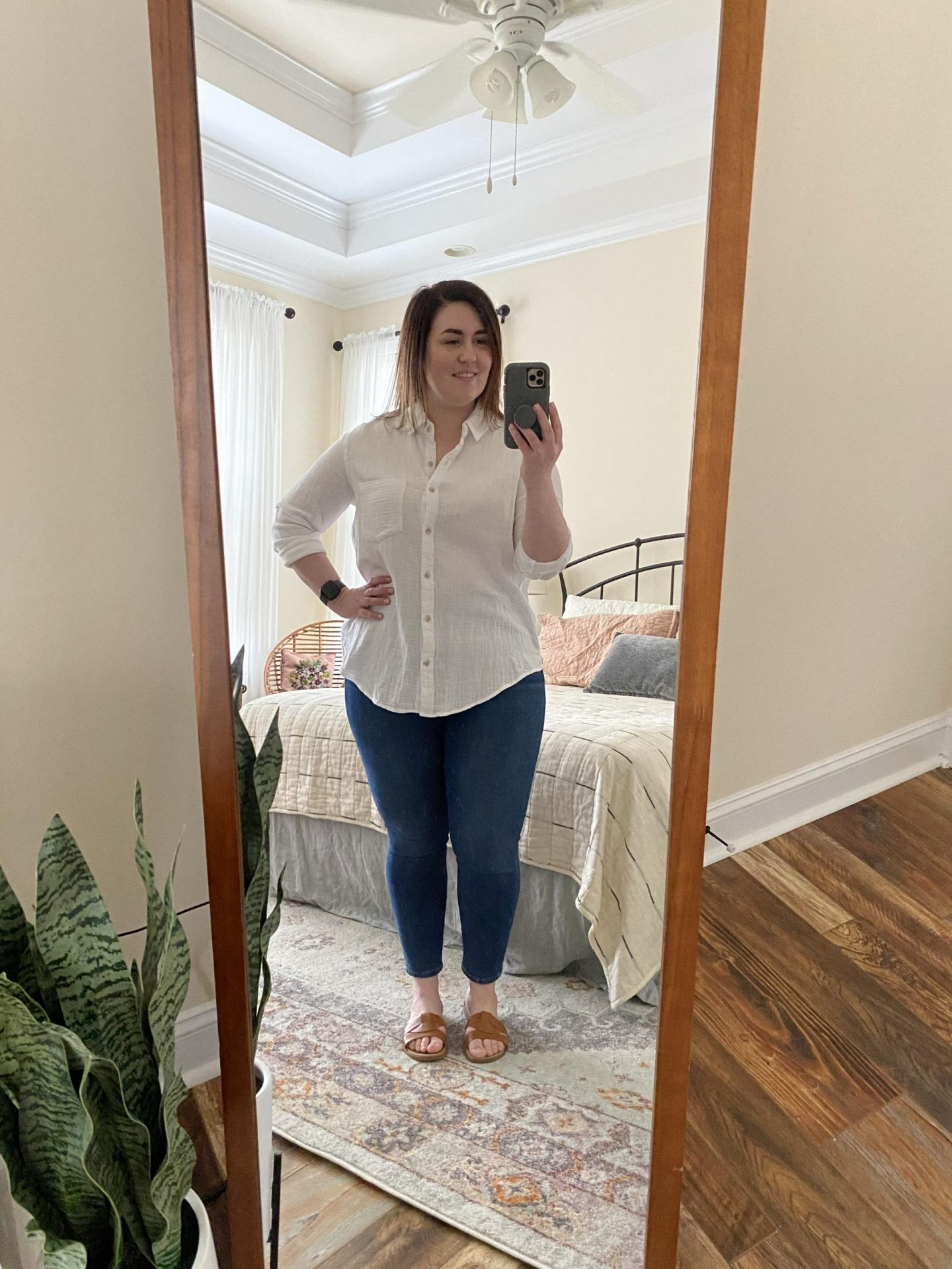 NC blogger Rebecca Lately is sharing her recent summer outfits. From casual to work from home and Sunday best, there's a variety!