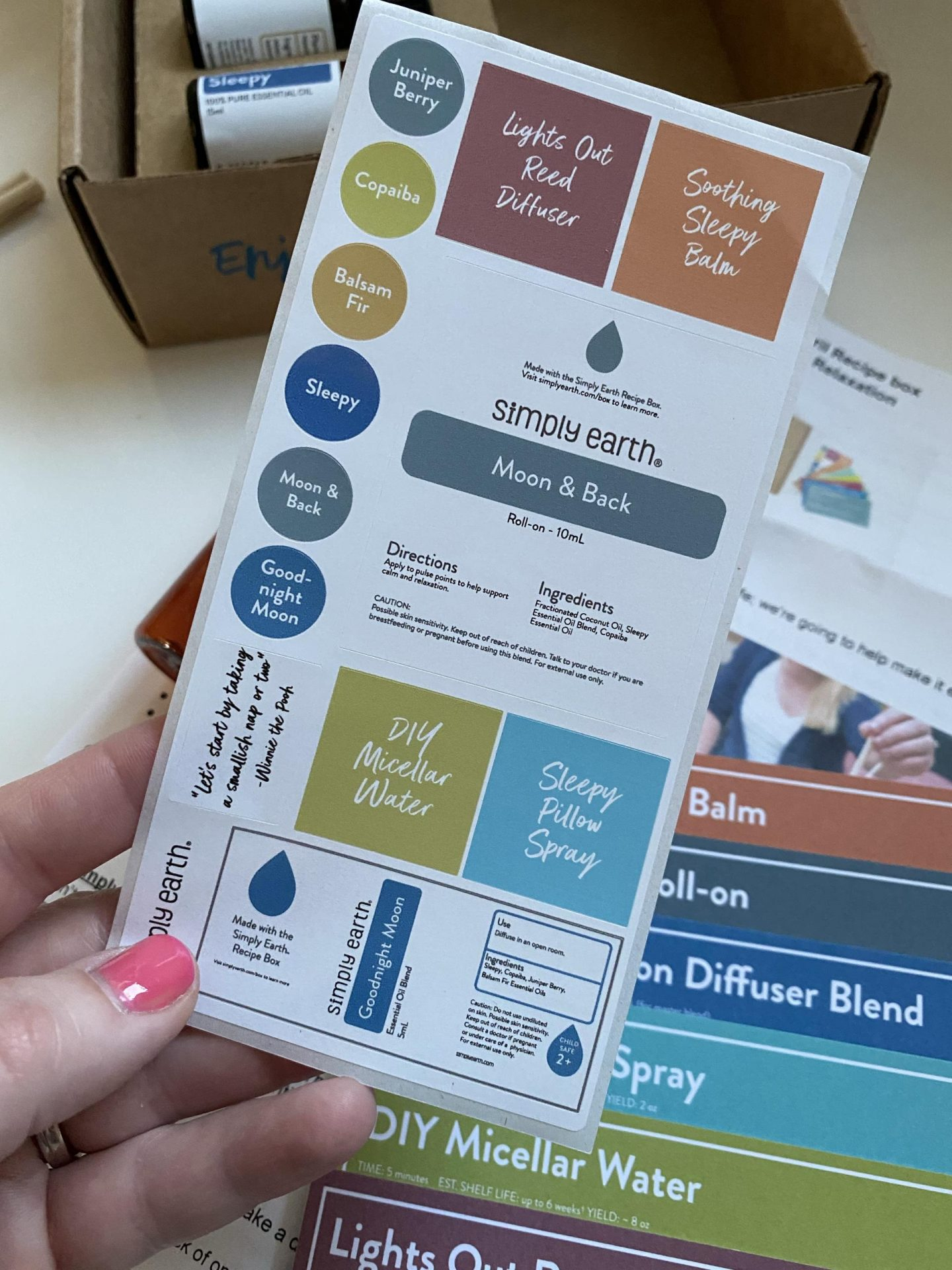 NC blogger Rebecca Lately is sharing her Simply Earth April 2021.  Order through her link and use code RLFREE to get the bonus box for free!