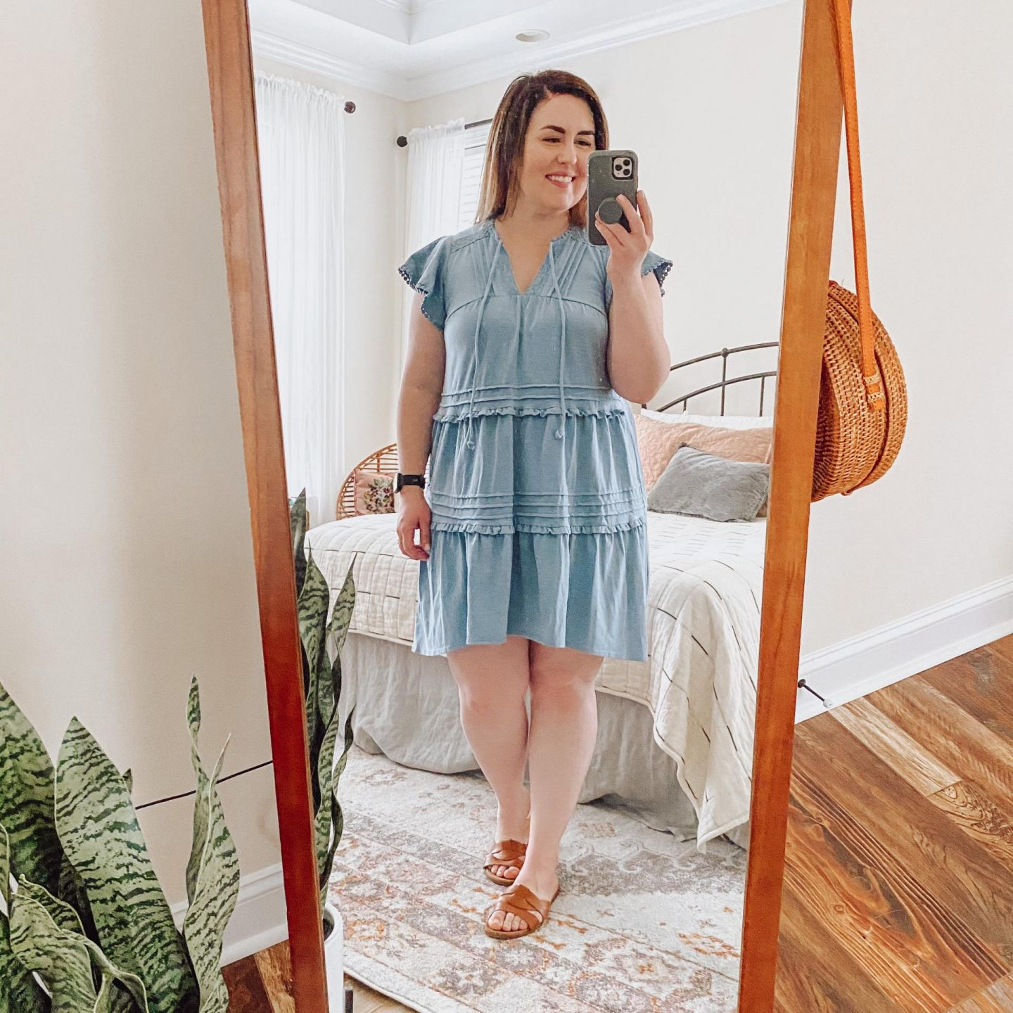 NC blogger Rebecca Lately is sharing her favorite spring dresses from Target. From chambray to florals, these will freshen up your wardrobe!