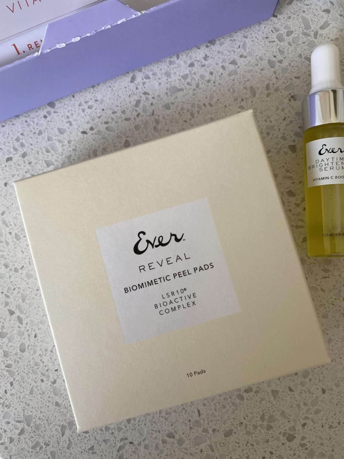 NC blogger Rebecca Lately is sharing her results with the Ever Vitamin C Glow Facial set. This trial set is amazing!