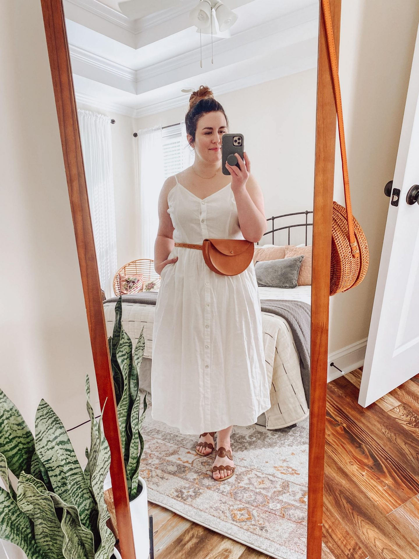 NC blogger Rebecca Lately is sharing her white summer dress styled three ways. If you love to restyle items, check this out!