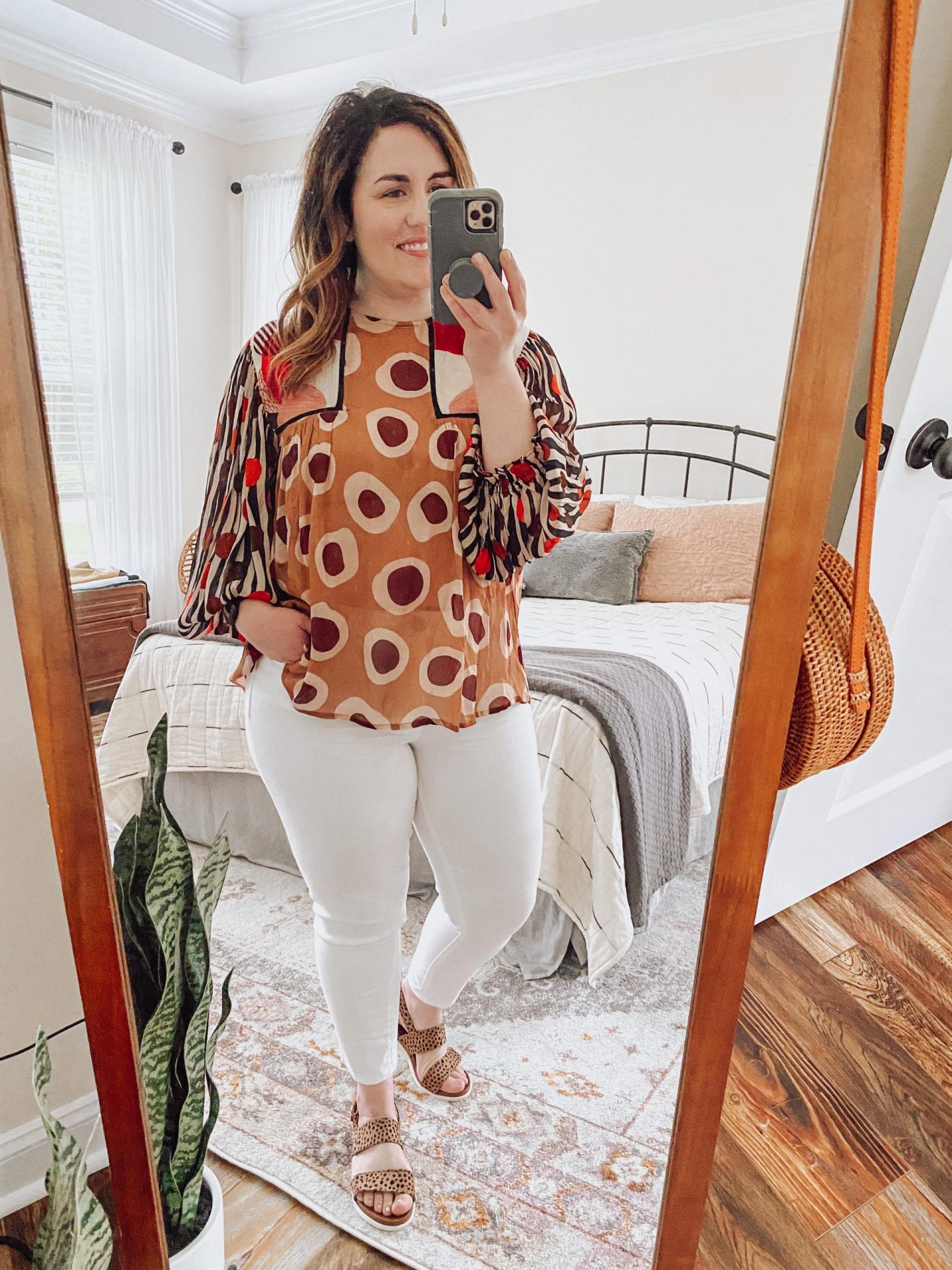 NC blogger Rebecca Lately is sharing some white denim outfit ideas for summer. If you love wearing denim, check this out!