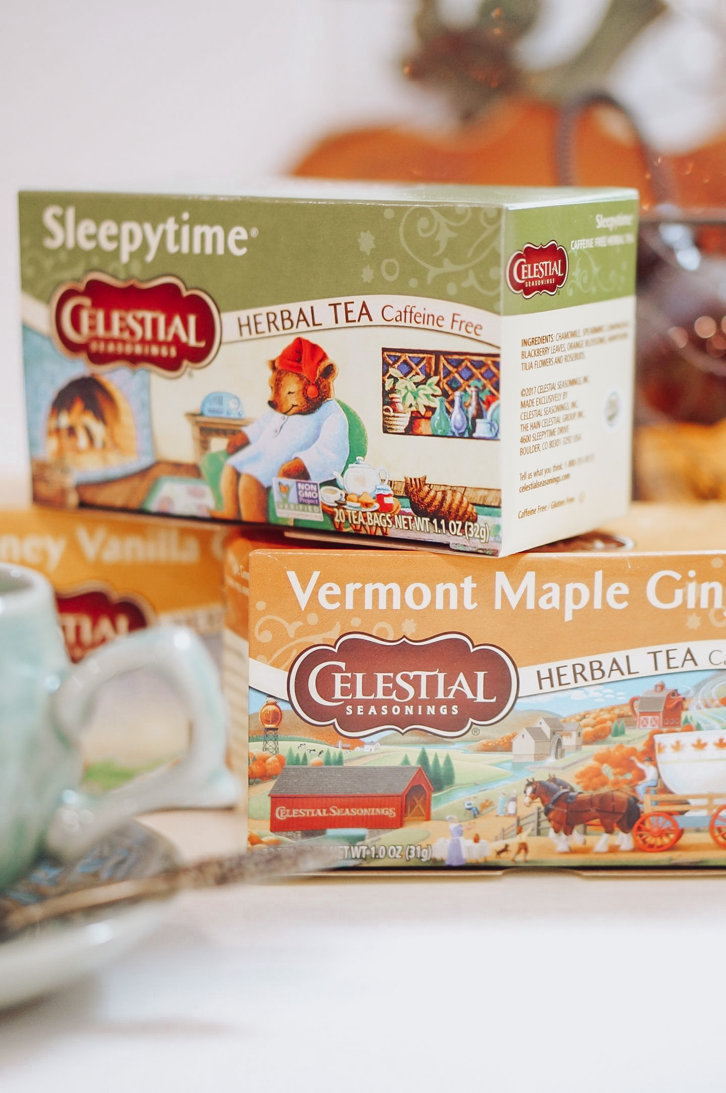 NC blogger Rebecca Lately is sharing her favorite fall teas, just in time for Fall in September! Check this out for tea recommendations.